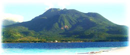 camiguin's pear-shaped volcanic island
